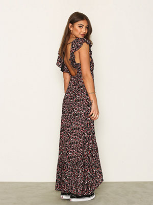 NLY Trend Floral Open Back Dress