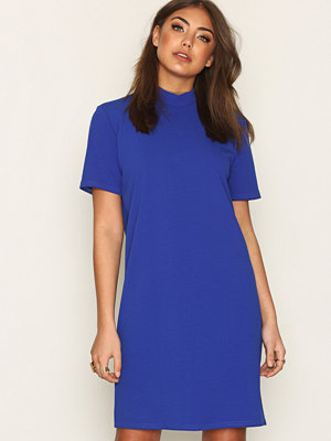 NLY Trend Scuba Crepe Dress Cobalt Blue