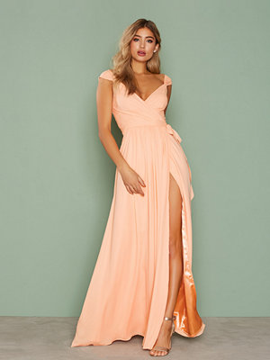 NLY Eve Wild Love Gown Peach