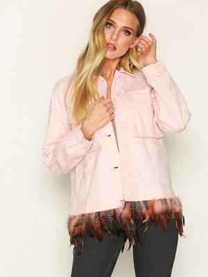 Topshop Fiesta Jacket Pink