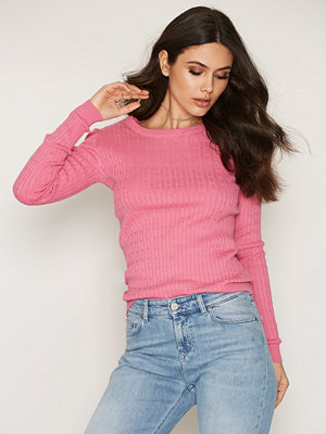 NLY Trend Casual Knit Sweater Rosa
