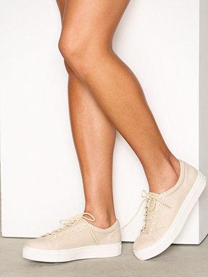 NLY Shoes Platform Sneaker Beige
