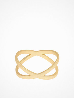 Smycken - MINT By TIMI Flat Cross Ring