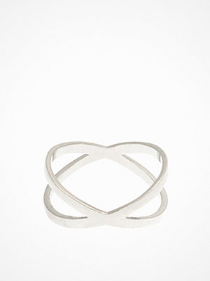 MINT By TIMI Flat Cross Ring Silver