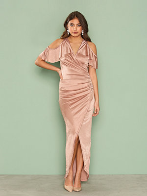 TFNC Maelle Dress Taupe