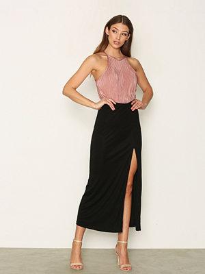 Filippa K Flowy Maxi Skirt Black