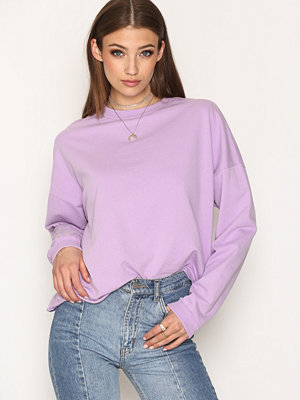 NLY Trend Bounce Back Sweat Lilac