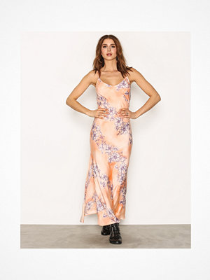Free People Cassie Girl Slip Orange