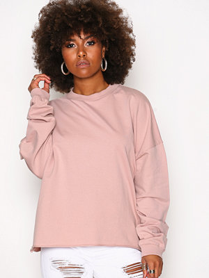 NLY Trend Bounce Back Sweat Dusty Pink