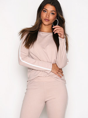NLY Trend Sporty Sweat Beige
