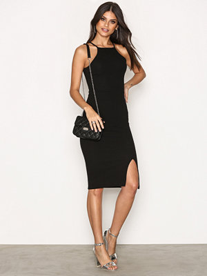 NLY One Thigh Slit Midi Dress