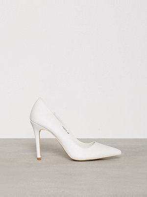 Pumps & klackskor - NLY Shoes Slim Pump Vit