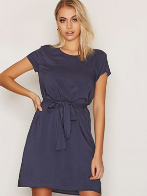 Dry Lake Navy Love Belt Dress