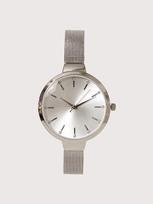 New Look Mini Stoned Mesh Watch