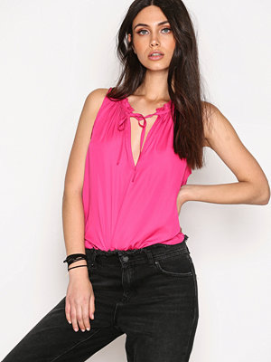 NLY Trend Sleevless Casual Top Fuchsia