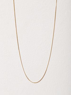 Blue Billie halsband Curb Chain 45cm Guld