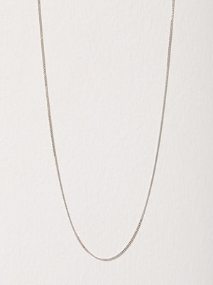 Blue Billie halsband Curb Chain 45cm Silver