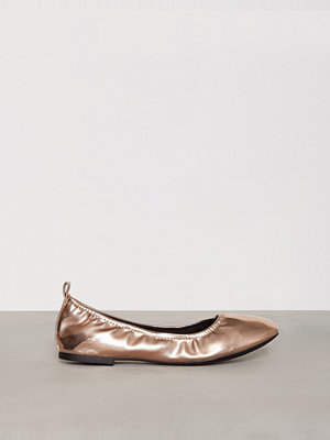 Ballerinaskor - New Look Ballet Pumps Rose Gold