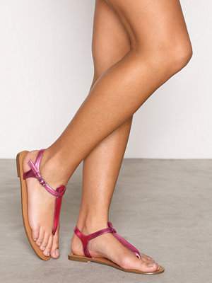 NLY Shoes Simple Sandal Rosa