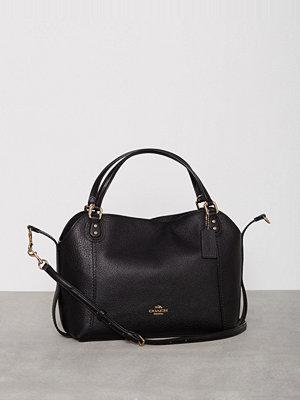 Handväskor - Coach Edie 28 Shoulder Bag Svart