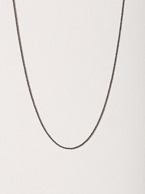 Blue Billie halsband Criss Cross Chain 45cm Svart