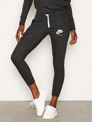 Nike svarta byxor NSW Gym Vintage Pant Svart