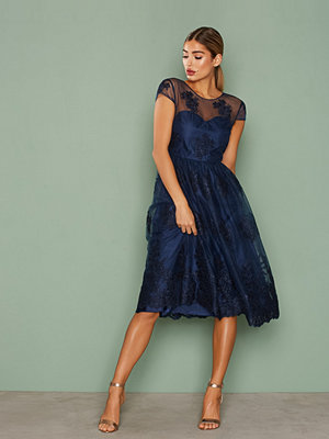 NLY Eve Decorated Short Gown Navy