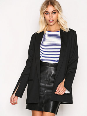 BACK Split Blazer Black
