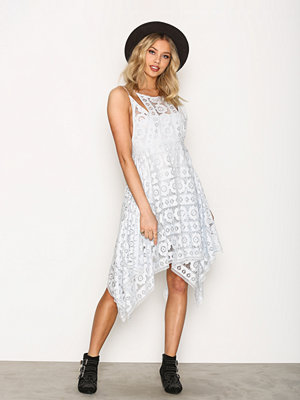 Free People Just Like Honey Dress Blue