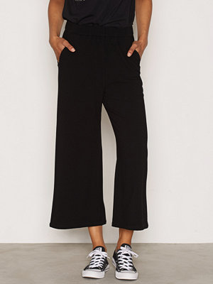 Dr. Denim svarta byxor Abel Trousers Black