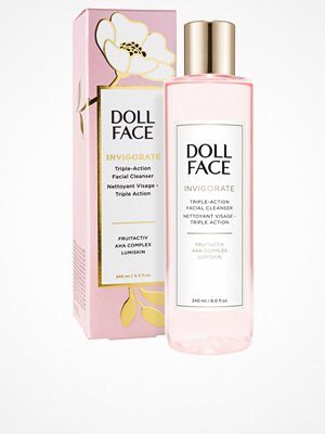 Ansikte - Doll Face Invigorate Triple-Action Facial Cleanser 240 ml Transparent