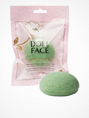 Ansikte - Doll Face Pretty Puff Natural Konjac Sponge Green Tea