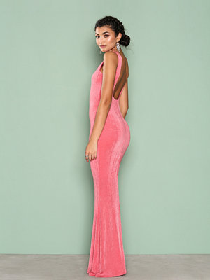 NLY Eve Sleeveless Gown Korall