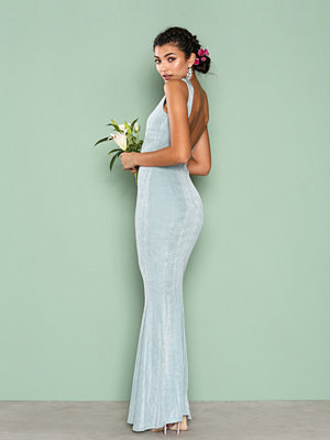 NLY Eve Sleeveless Gown Mint Grön