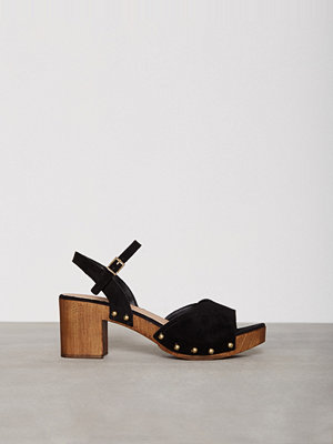 Topshop VALENTINE Sweetheart Sandals Black
