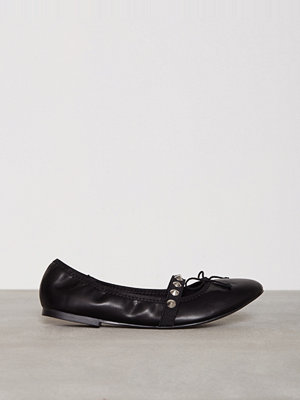 Ballerinaskor - Topshop Studded Ballet Shoes Black