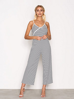Jumpsuits & playsuits - Topshop Stripe Wrap Jumpsuit