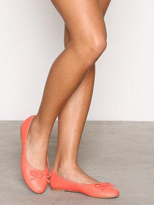 Ballerinaskor - NLY Shoes Ballerina Coral