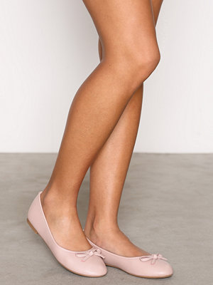 Ballerinaskor - NLY Shoes Ballerina Dusty Pink