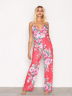 Jumpsuits & playsuits - NLY Trend Strappy Print Jumpsuit