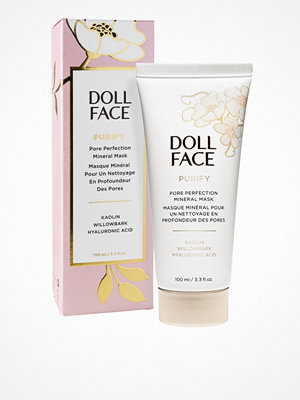 Ansikte - Doll Face Purify Pore Perfecting Mineral Mask 100 ml Transparent