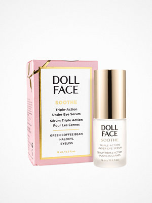 Ansikte - Doll Face Soothe Triple-Action Under Eye Serum 15 ml Transparent