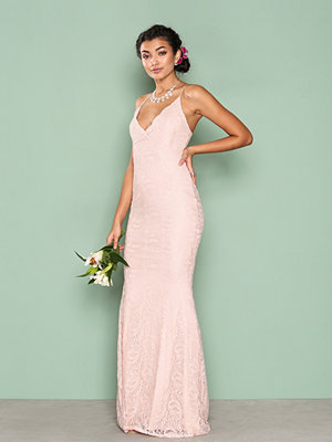 NLY Eve Strap Lace Gown Rosa