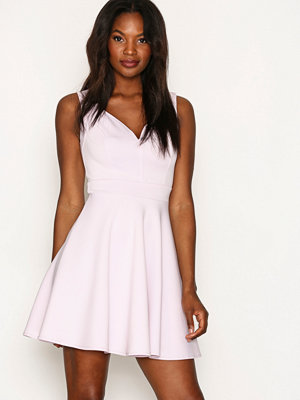 NLY One Sweetheart Skater Dress Ljus Lila