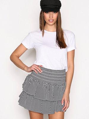 Kjolar - Anine Bing Striped Silk Skirt