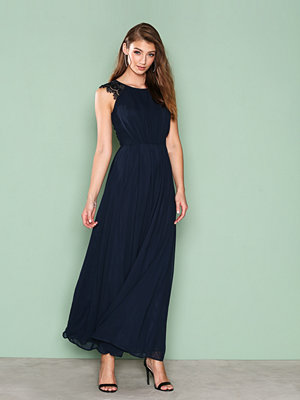 Ax Paris Chiffon Maxi Dress Navy