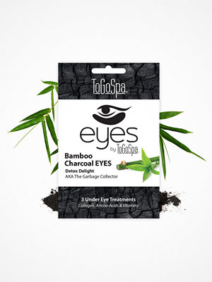 Ansikte - ToGoSpa 3 Under Eye Treatments Charcoal