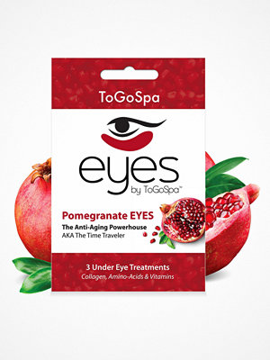 Ansikte - ToGoSpa 3 Under Eye Treatments Pomegranate