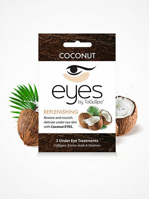 Ansikte - ToGoSpa 3 Under Eye Treatments Coconut