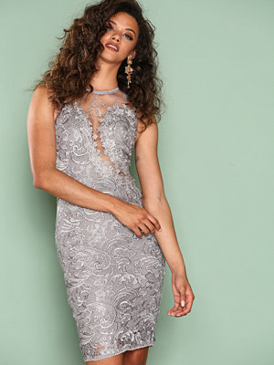 Ax Paris Dreamy Lace Dress Grey